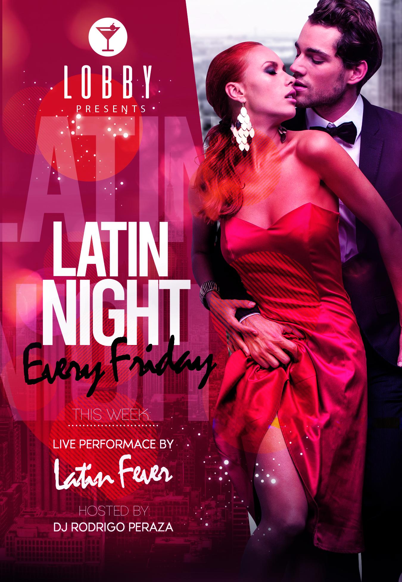 Latin Night at Lobby